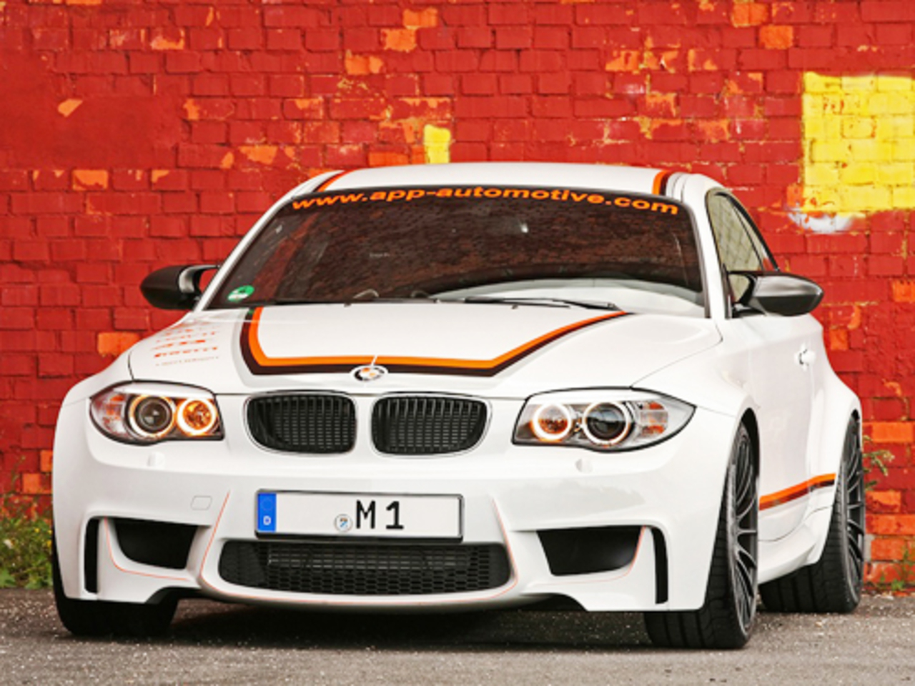 BMW 1-Series M Coupe от ателье APP